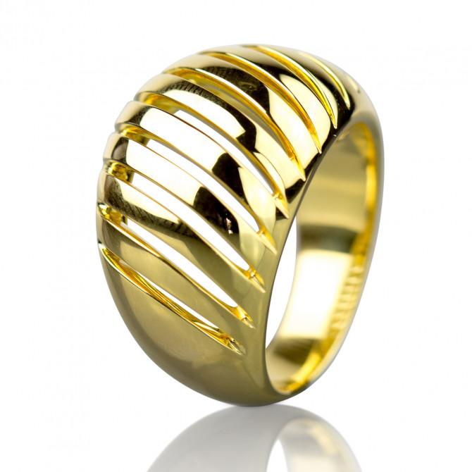 Ring Silber 925/000 Gelb-vergoldet 16A429