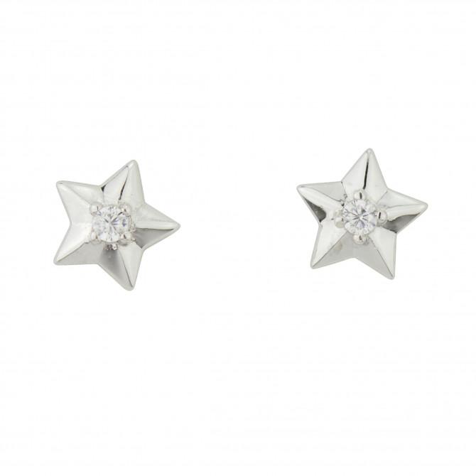 Ohrstecker Stern Silber 925/000 17A1452